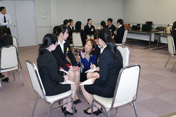 2013年宮崎空港ビル新入社員研修ディスカッション